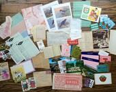 "Vintage Paper Ephemera Pack ""B"""