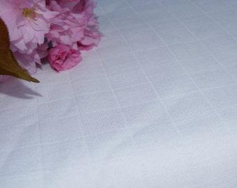 Bamboo Muslin Fabric, Certified Organic, 14 yards cut