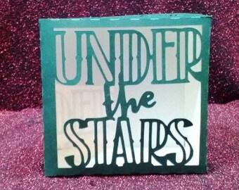 DIY under the stars favor box set of three