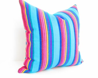 Tribal Pillow Cover,Colorful Pillow Covers,Bohemian Decor, Boho Bedding, Mexican Cushion,Tribal pillowcase, Cinco de Mayo, Mexico Home decor