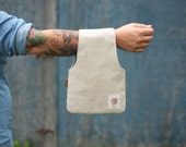 Project Bag, knitting bag, knitting wristlet, Knitter's gift, needlecraft bag