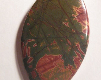 Cherry Creek  Jasper  bead ..........   58 x 31 x 6 mm   .......                  a2728