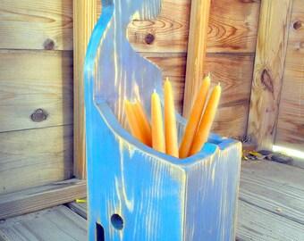 Wall Candle Box - Nantucket Whale