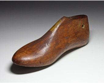 Vintage Wooden Child's Shoe Form