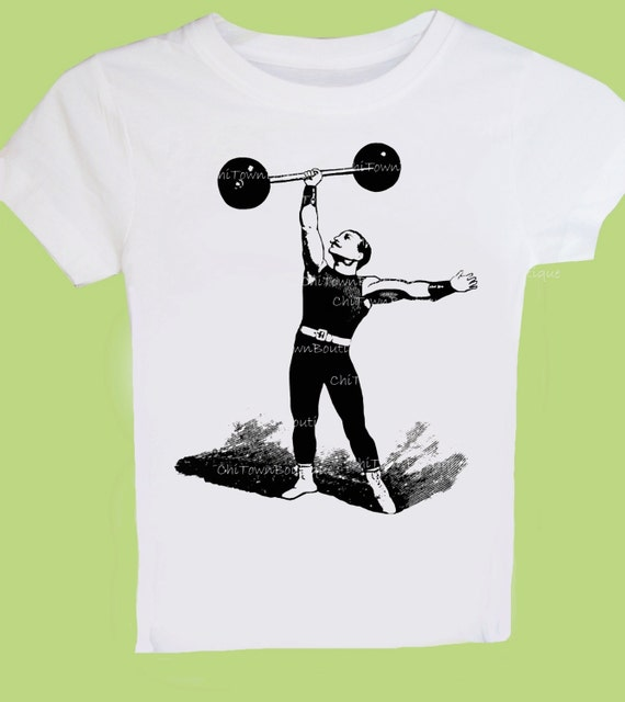 Victorian Strongman Vintage Circus Sideshow T-shirt, Tank Top or Baby One Piece by ChiTownBoutique.etsy
