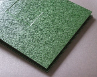 Photo Album Faux Lizard Green