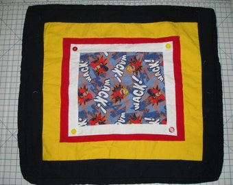Incredibles Flannel Blanket - flannel backing and batting - Cozy and Warm