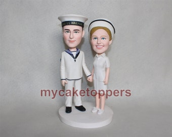 Cake toppers custom cake topper navy
