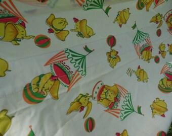 Curtain Set Dumbo The Flying Elephant Curtains One Panel