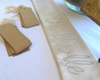 CUSTOM Future Mrs. Bridal Shower or Bachelorette Sash
