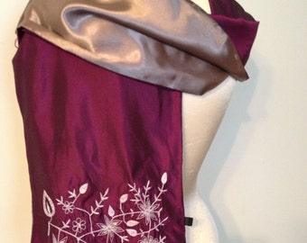 Women's Formal Occasion Scarf, Shawl or Wrap Made in India - Party -  Dance - Prom Accessories