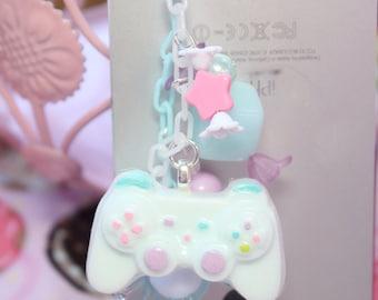 Fairy Kei Game Controller Headphone Jack  Phone Charm MADE TO ORDER