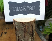 13 Tall Place Card Holder- From A Fallen Tree
