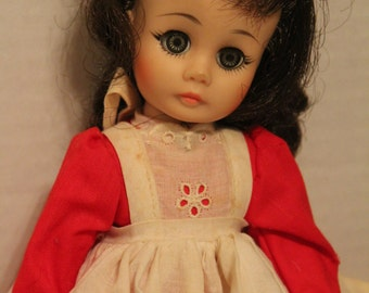 "Madame Alexander Doll Named Jo from Little Women. Number 413. 11"" doll- Collectible Doll"