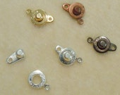 2 Dozen snap clasps for jewelry easy economical safe ball & socket trailer hitch