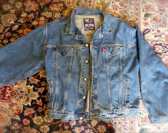 Vintage Original Authentic 80's 1980's BIG STAR Denim Jacket - Winners of Western Series
