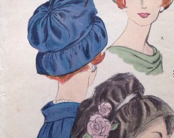 Vogue 5109 - hat pattern