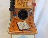 Vintage 50's Cowboy Ranch Toy Phone