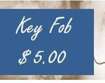 Key Fob-- Add on for Purse Organizer