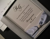 Fifth Avenue Collection Invitation Suite FA201130 - Dressed to Kill with Swarovski Crystals