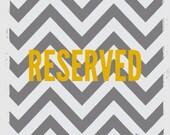 Reserved  for allison