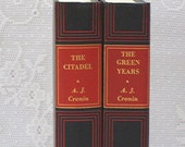 A J Cronin - The Citadel - The Green Years - Set of Two Books