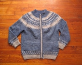 mens vintage cowichan sweater jacket