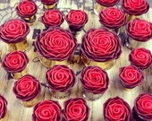 """Ombre Rosebud Plugs - 4g to 2""""- Gauges"""