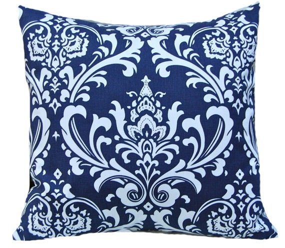Navy Blue Decorative Pillow Covers : Decorative Throw Pillow Covers Navy Blue by CompanyTwentySix