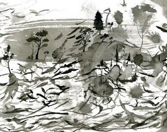 "Refuge - Archival Print - 4""x6"""