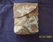 Tapestry fabric purse - Large size