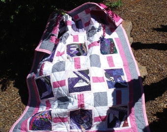 Baby Quilt Pink Parfait