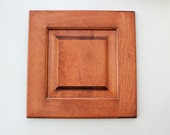 Reclaimed Wood Door - Amber Brown - DIY wall decor - salvaged wood - rare find