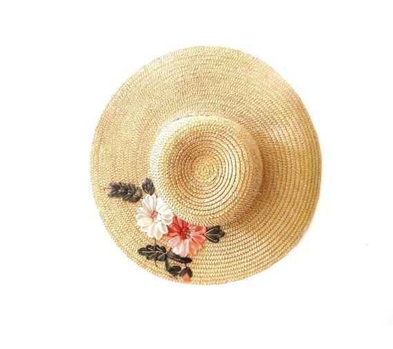 Vintage Straw Hat 86