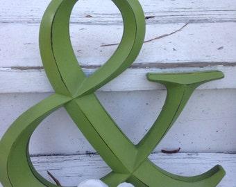 Wall Decor / Ampersand /  Symbol / Wedding Prop