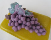 Grape Soap Bar - gifts for teens, gifts for woman, Stocking stuffer for her, grape gold soap bar