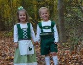 Hansel and Gretel costume set (Twin Halloween costume, Oktoberfest)