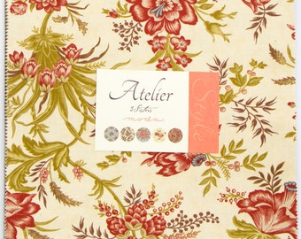 Atelier - Layer Cake by 3 Sisters for Moda Fabrics