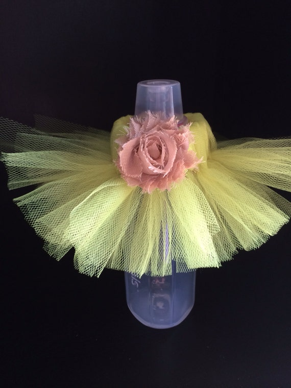 to baby bottle tutus baby shower bottle tutu for table decorations