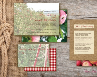 Apple Orchard Wedding Invitations