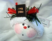 Bible Ornament Christmas Religious Townsend Custom Gifts - F