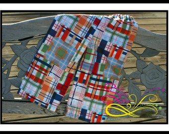 Boys' Madras Pants Made to Match Any Shirt