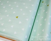 Quilting Weight Cotton Fabric, Triangle Tokens, Arizona Collection, Art Gallery Fabric Designed Cotton Favric