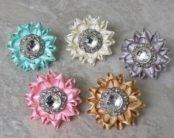 Pink Flower Ring, Pink Statement Ring, Adjustable Ring, Pink Ring, Large Chunky Statement Ring, Adjustable Flower Ring, Gift for Teen Girl