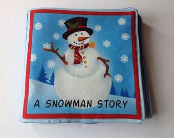 A Snowman's Story Soft Cloth Book