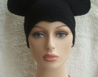 Adult size Mickey Mouse beanie / hat (ready for shipping).