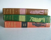 Vintage Book Collection New Junior Classics by Collier Home Decor Instant Library Set of 3 Children's Books Photo Prop