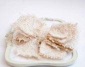 Chic Tweed Bow  Headband with Clip  Elastic Hardheadband your choise