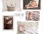 Frame Me vol 3 PSD Frames and Overlays  INSTANT DOWNLOAD