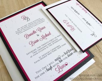 fairytale wedding invitation fairytale wedding happily ever after fairy tail wedding invite - Fairy Tale Wedding Invitations